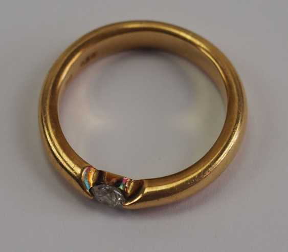 Diamant Ring - GOLD. - photo 4