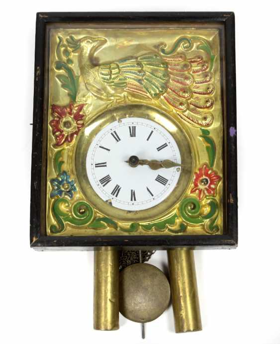 Picture clock, the black forest, around 1840 - photo 1