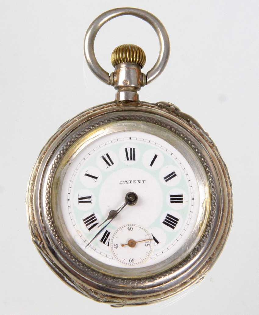 Mens Pocket Watch Silver 800 - photo 1