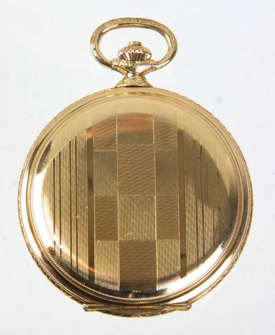 Savonette pocket watch in *Favour* with chain - photo 2