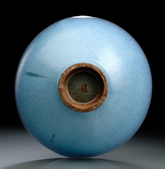 BLUE SPOTTED 'JUNYAO GLAZED'CUP - photo 2