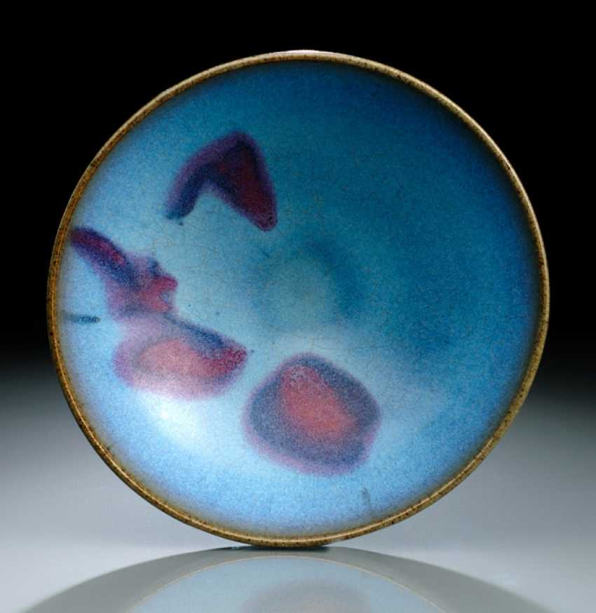 BLUE SPOTTED 'JUNYAO GLAZED'CUP - photo 1