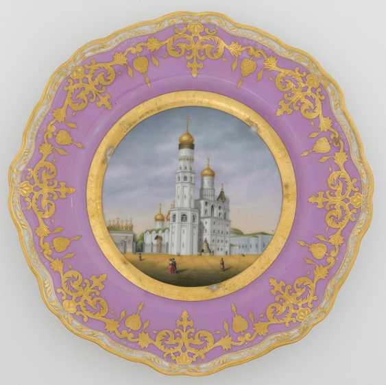 A Porcelain Dessert Plate from the Dowry Service of Grand Duchess Alexandra Nikolaevna - photo 1