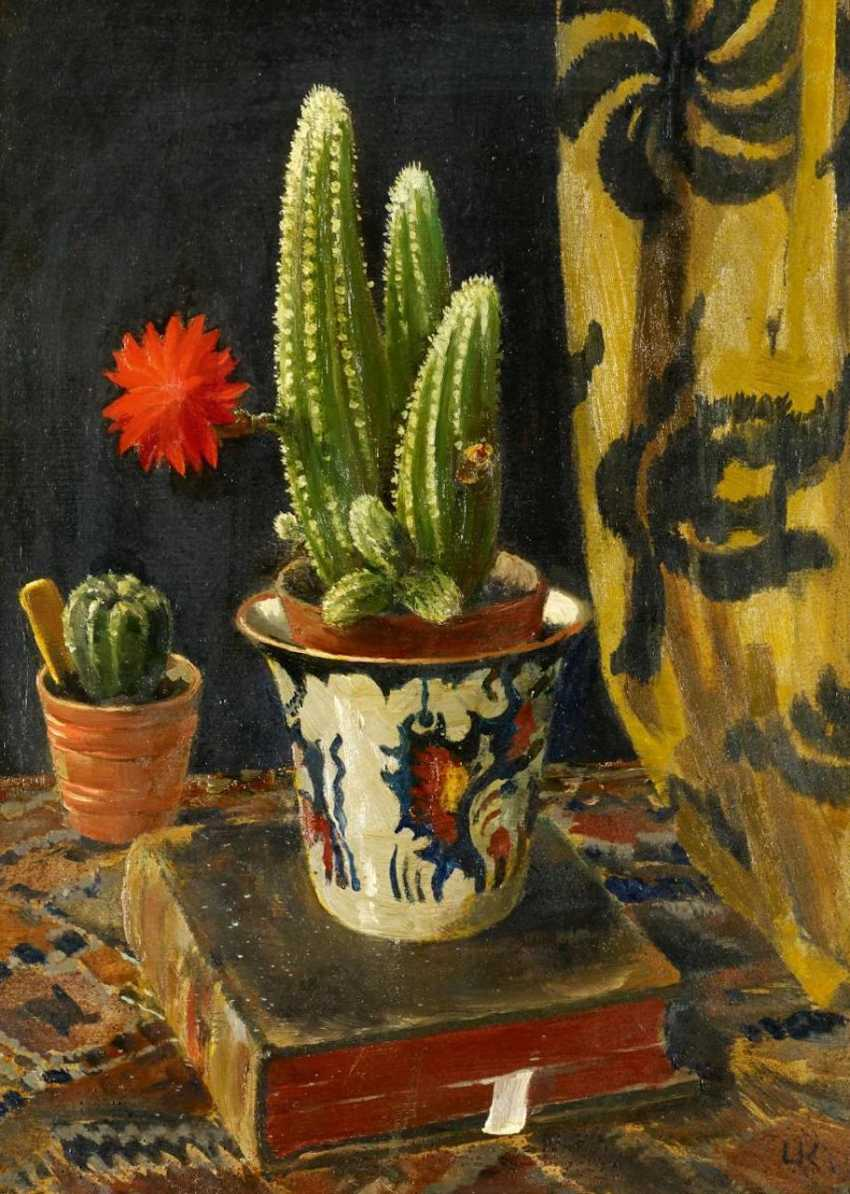 Still life with cactus - photo 1