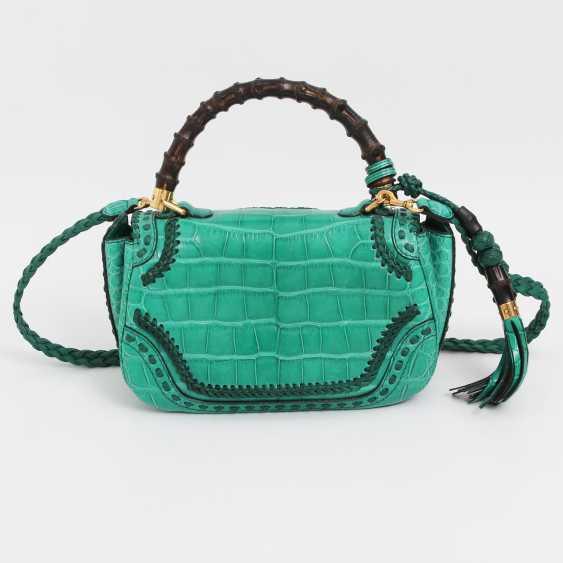 "GUCCI exquisite Handle/shoulder bag ""BAMBOO TASSEL BAG"" - photo 4"