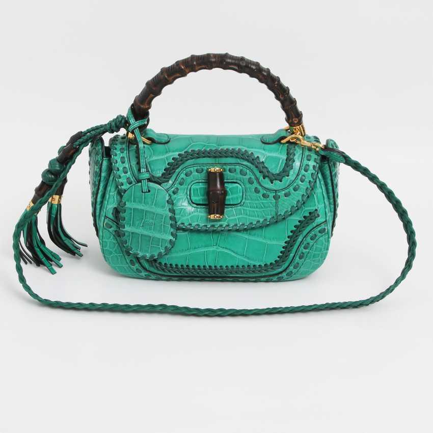 "GUCCI exquisite Handle/shoulder bag ""BAMBOO TASSEL BAG"" - photo 1"