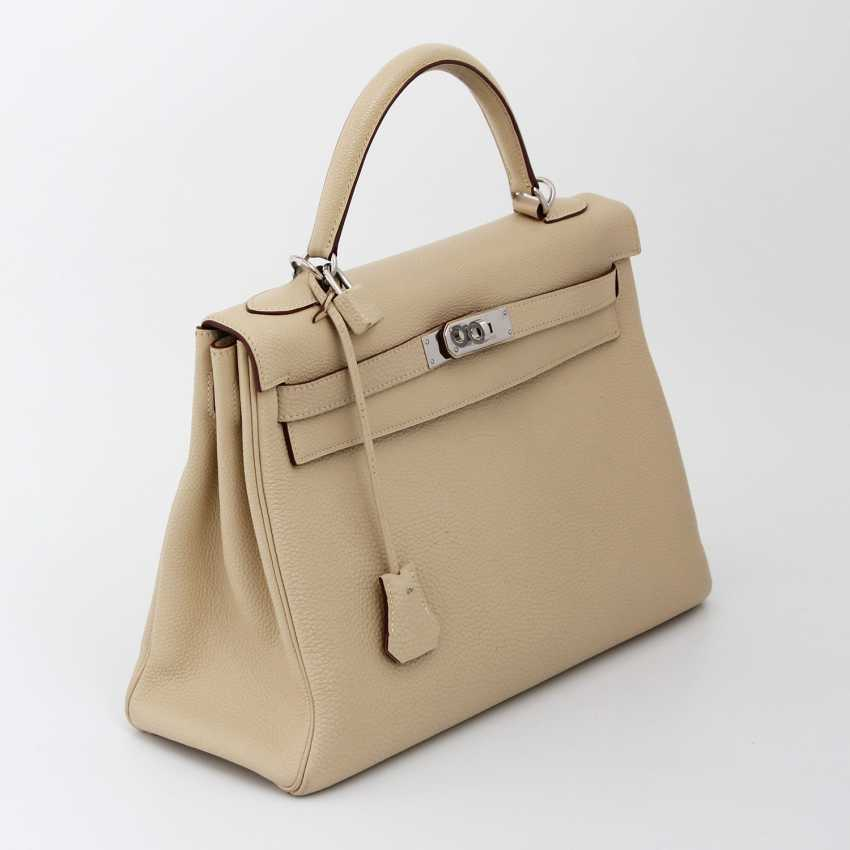 "HERMÈS exclusive Handle/shoulder bag ""RETOURNE KELLY BAG 32"" - photo 2"