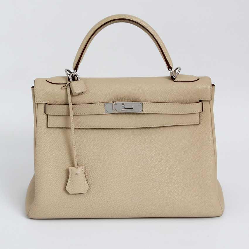 "HERMÈS exclusive Handle/shoulder bag ""RETOURNE KELLY BAG 32"" - photo 1"