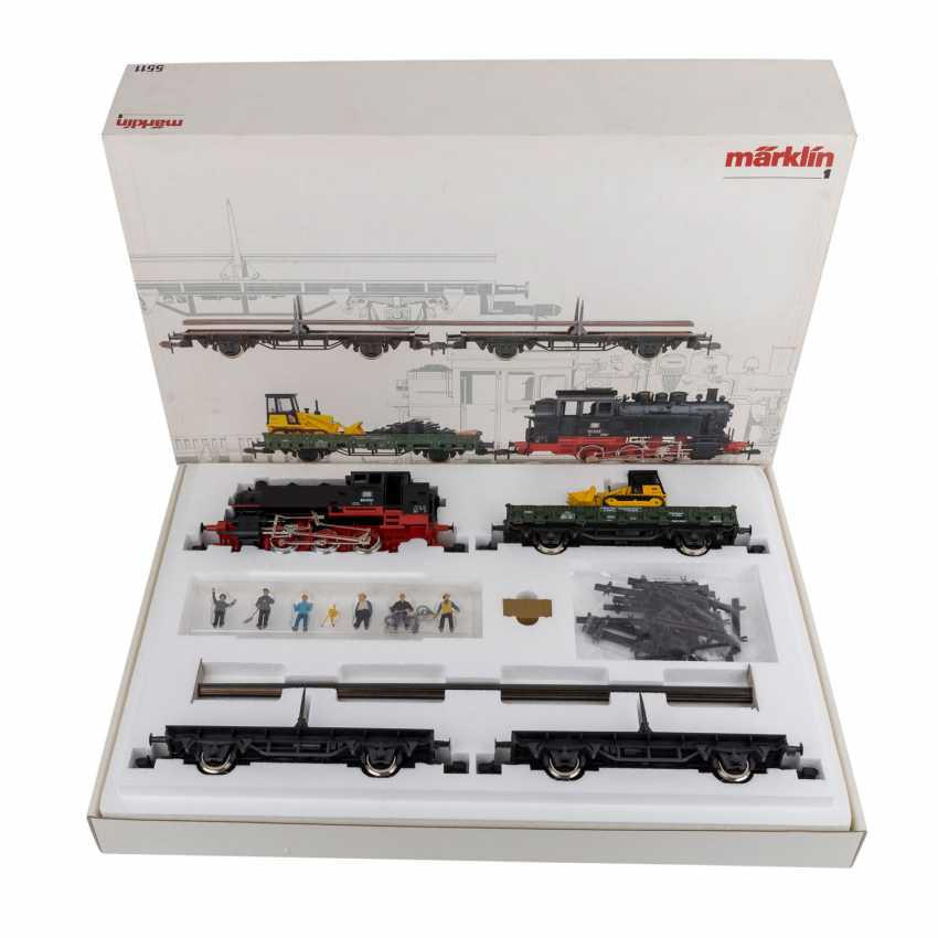 Lot 50  MÄRKLIN Track construction train 5511, track 1, from