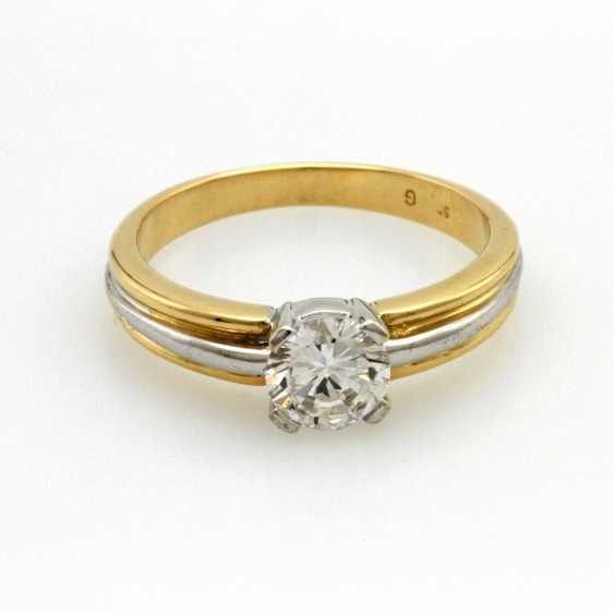 Ladies ring GG/WG 14 K