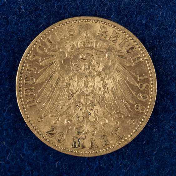 Dt. Kaiserreich / Baden / Prussia / GOLD - 9 coins: - photo 2