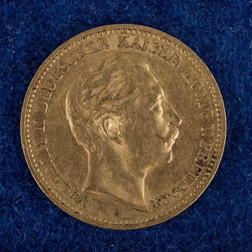 Dt. Kaiserreich / Baden / Prussia / GOLD - 9 coins: - photo 3