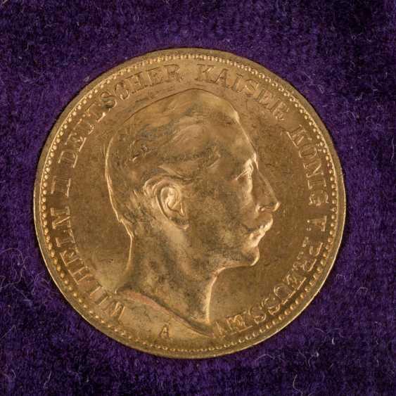 Dt. Kaiserreich / Baden / Prussia / GOLD - 9 coins: - photo 4