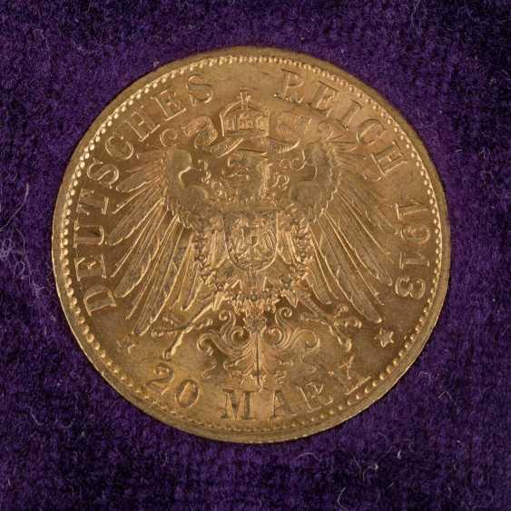 Dt. Kaiserreich / Baden / Prussia / GOLD - 9 coins: - photo 5