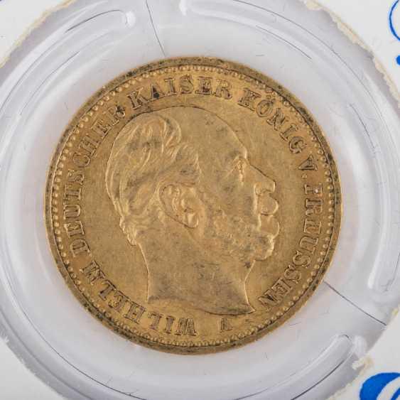 Dt. Kaiserreich / Baden / Prussia / GOLD - 9 coins: - photo 6