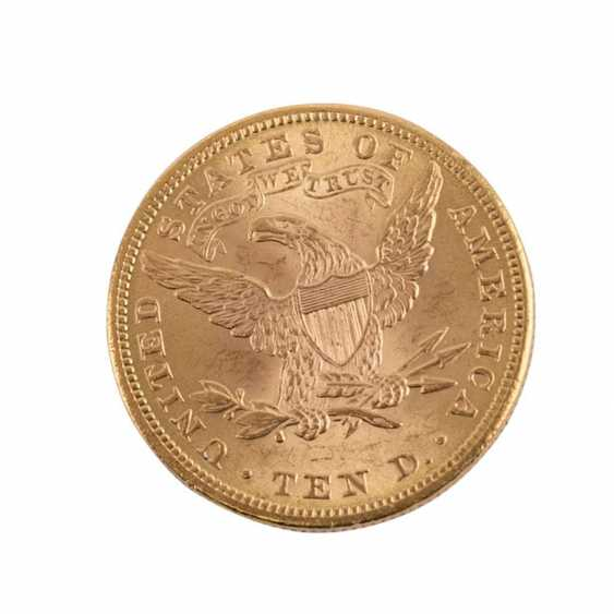USA/GOLD - 10 Dollars 1901 Liberty Head, - photo 2