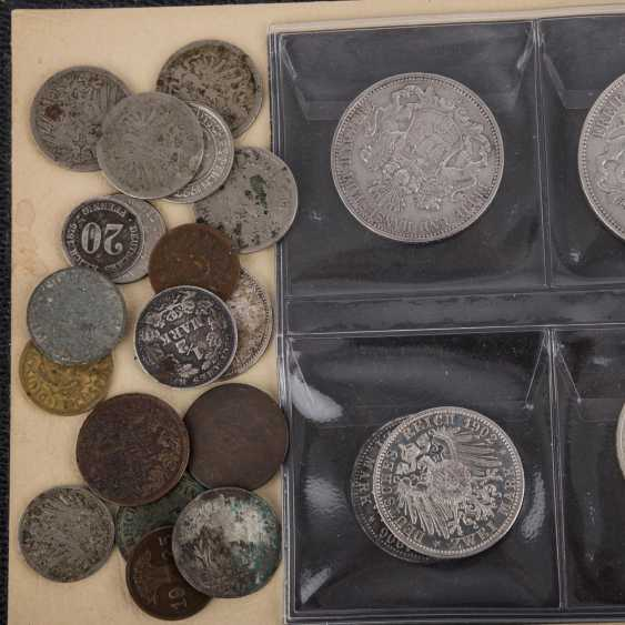Small coin album with a focus on Dt. The German Empire and third Reich - - photo 2