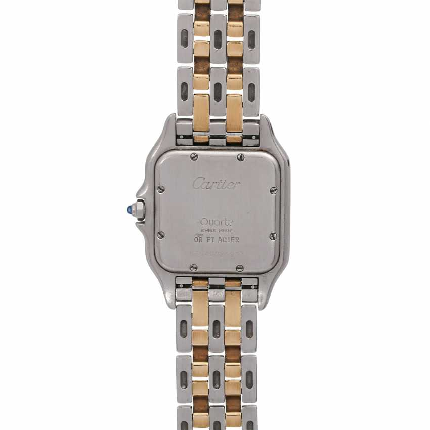CARTIER Panthere ladies watch, approx. mid-1980s, probably in Ref. 83083242. Stainless Steel/Gold. - photo 2