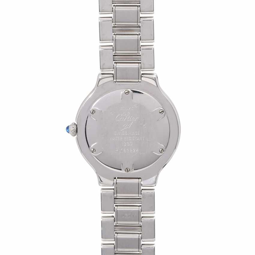 CARTIER Must 21 women's watch, Ref. 1330. Stainless steel. - photo 2