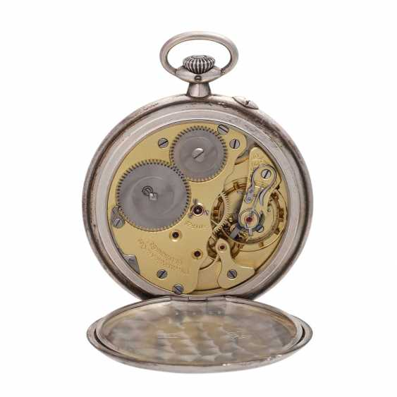 DUF German precision watch Glashütte pocket watch, around 1900/10. - photo 4