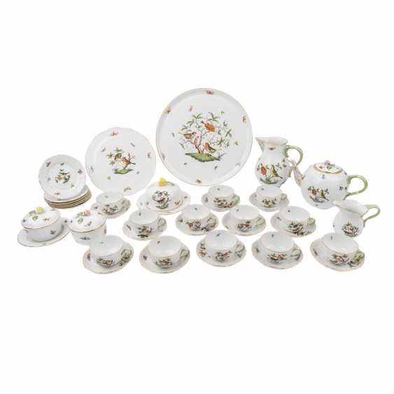 HEREND tea set for 6-12 people, 20. Century - photo 1