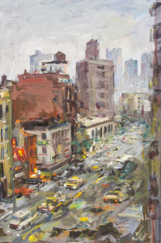 "LEIPPERT, JÜRGEN (geb. In 1944, in Stuttgart, working at the same place), ""New York, Thunderstorm"", - photo 1"