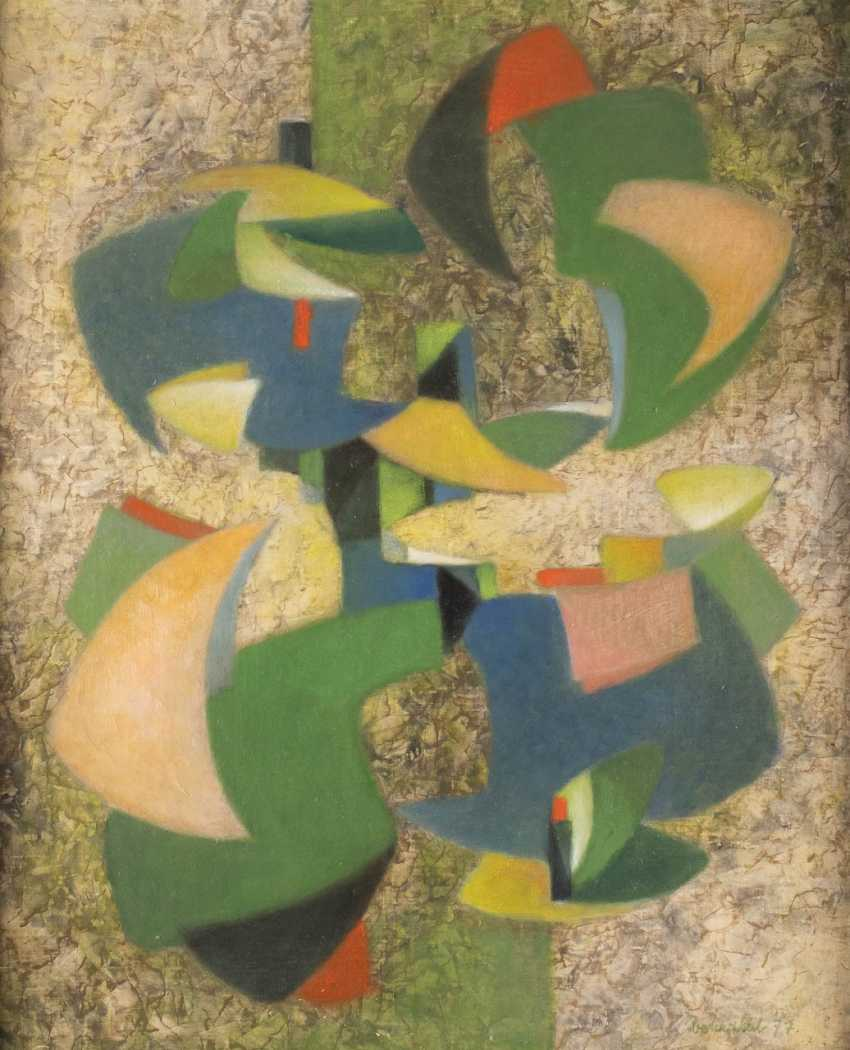 JOSEF VOHRABAL 1908 Brno - 1994 ibid. ABSTRACT COMPOSITION - photo 1
