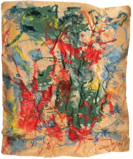 HERBERT ZANGS 1924 Krefeld - 2003 ibid. Crease image - photo 1