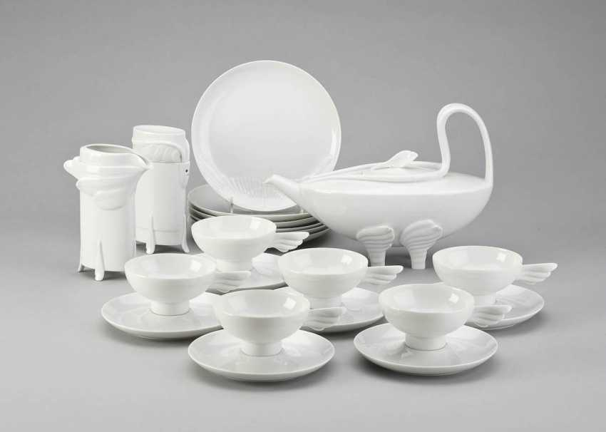 PAUL WUNDERLICH 1927 Eberswalde - 2010 Saint-Pierre-de-Vassols tea set 'LEDA'. German, Rosenthal, 1985 - photo 1