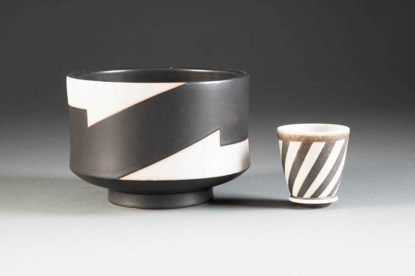 FEW ARTISTS IN CERAMICS. Germany, 2. Half of the 20th century. Century, Inke Lerch-Brodersen, among other things - photo 1