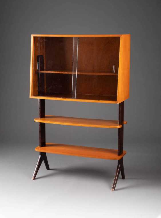 SMALL SHELF. Design: Germany, RMB (Rheinland), Prof. Reinhold Stotz, 1950s - photo 1