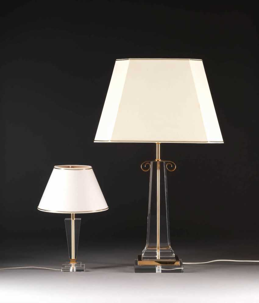 PAIR OF TABLE LAMPS. Execution: Spain, Paco Dominguez, 1980s, or later - photo 1