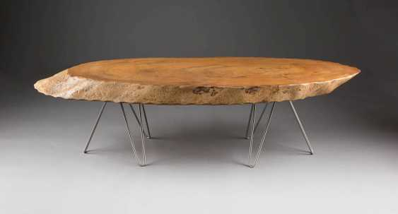 TABLE 'TREE TRUNK'. Probably German or Austrian Designer, 1960s/1970s - photo 1