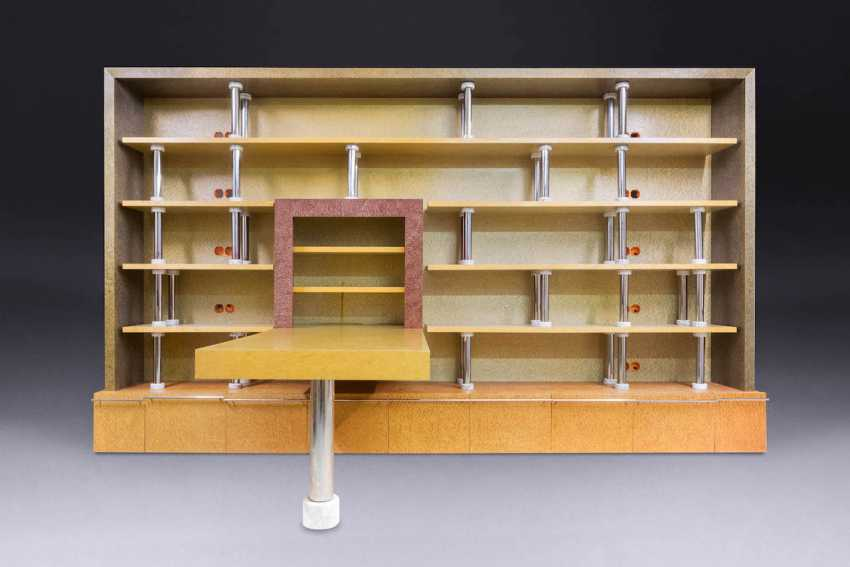 MATTEO THUN 1952 Bolzano (Italy). LARGE SHELF WITH TABLE - photo 1