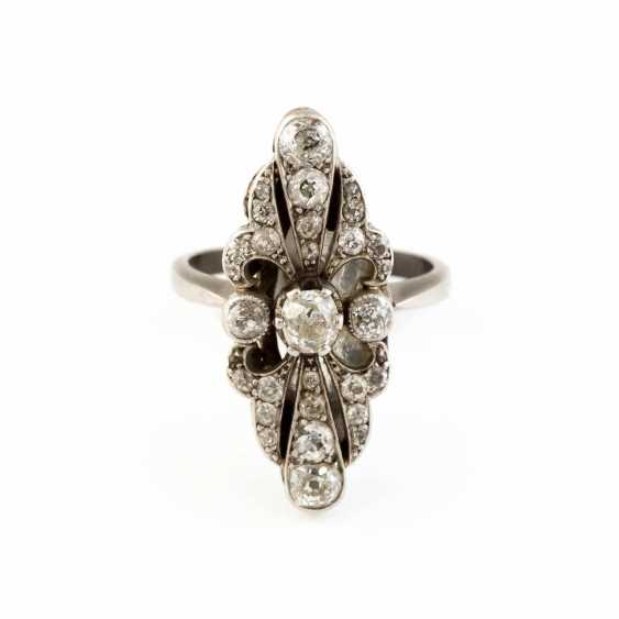 HISTORICAL DIAMOND RING - photo 1
