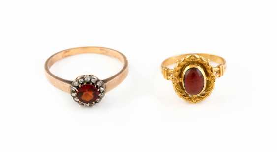 COLLECTION OF HISTORICAL RINGS - photo 1