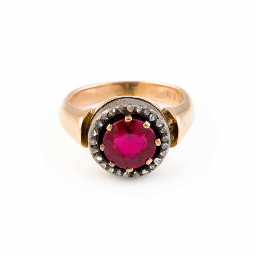 GEMSTONE RING - photo 1