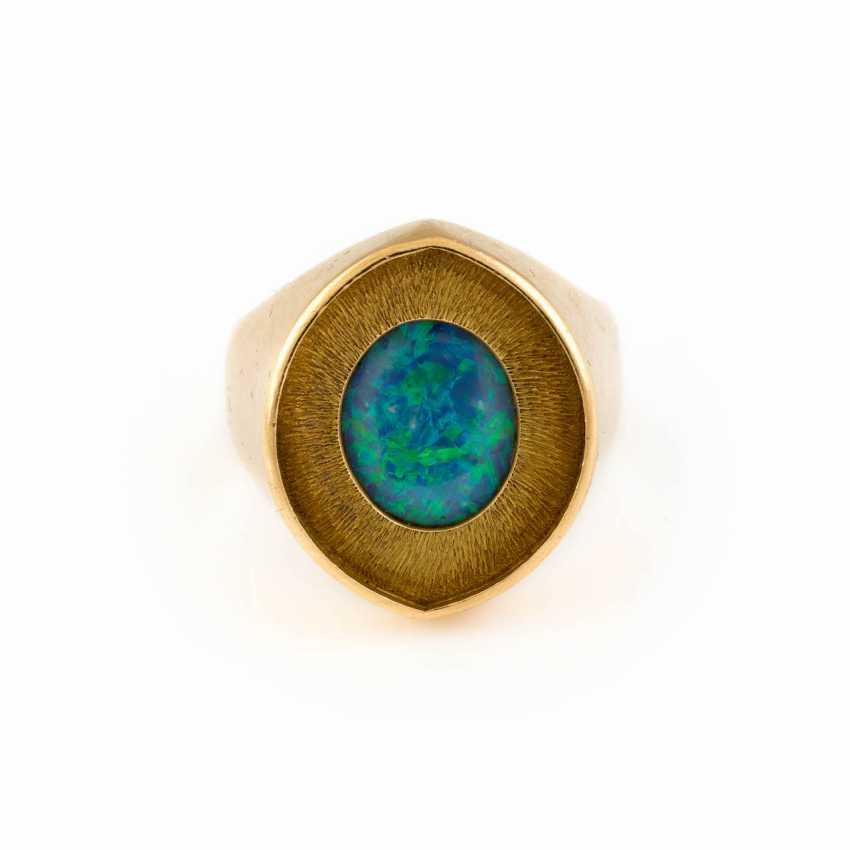 GOLDSMITHS-RING WITH OPAL - photo 1