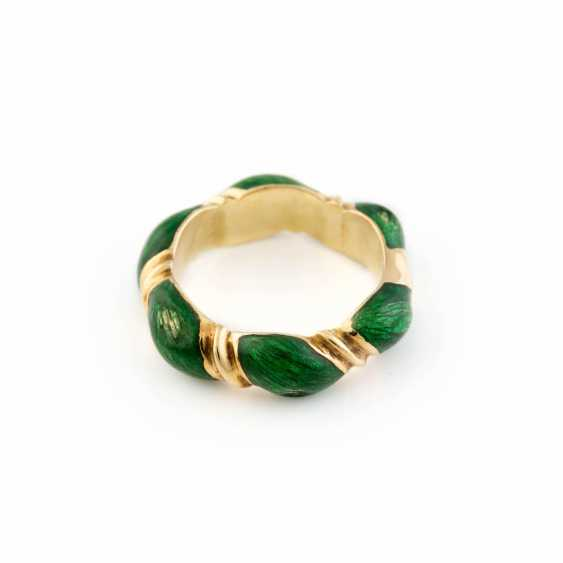EMAILLE-RING - photo 1