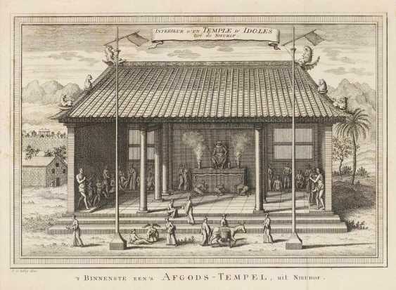 Eighteen copper engravings with views from China - photo 2