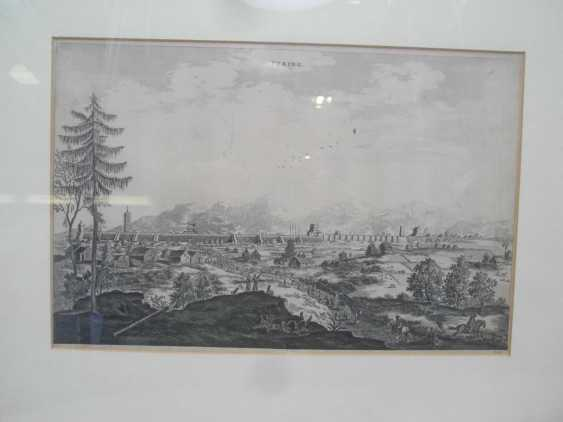 Eighteen copper engravings with views from China - photo 3