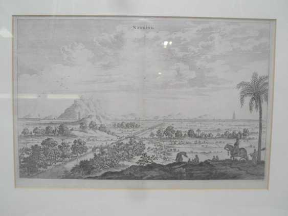 Eighteen copper engravings with views from China - photo 5