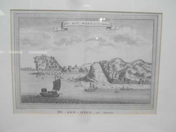 Eighteen copper engravings with views from China - photo 6