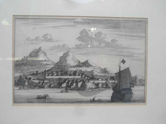 Eighteen copper engravings with views from China - photo 7