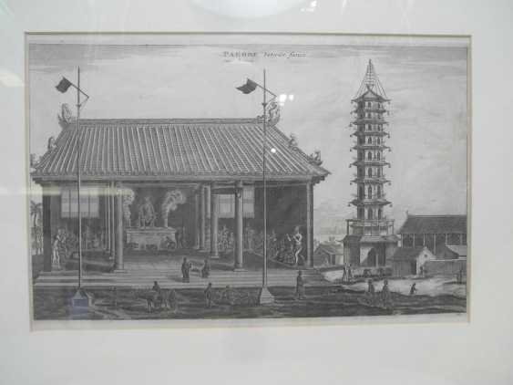 Eighteen copper engravings with views from China - photo 9