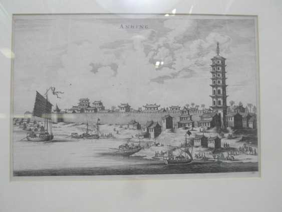 Eighteen copper engravings with views from China - photo 13