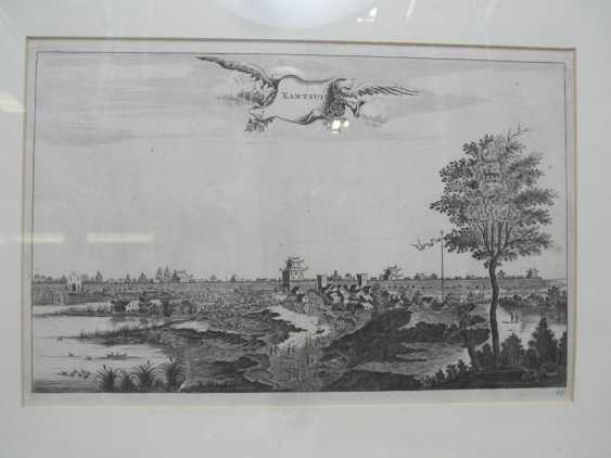 Eighteen copper engravings with views from China - photo 15