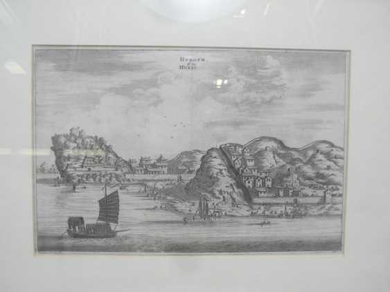 Eighteen copper engravings with views from China - photo 17
