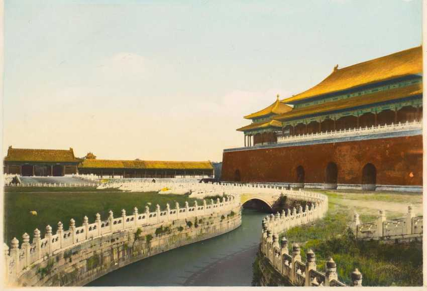 Seventeen historical photos of the forbidden city and the summer Palace - photo 1