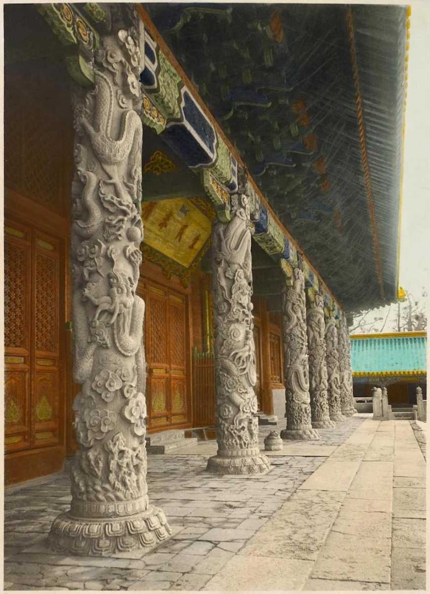 Seventeen historical photos of the forbidden city and the summer Palace - photo 2